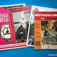 Coches y Motocicletas: MOTOS Y MOTONETAS, MOTOCICLISMO - 4 ANTIGUAS REVISTAS DIFERENTES DE MOTOS, VER FOTOS ADICIONALES. Lote 177406887