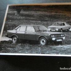Coches y Motocicletas: FOTOGRAFIA PROMOCIONAL DE FABRICA SEAT 131 . Lote 177427190