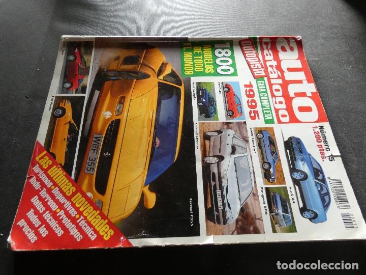 GRUESA REVISTA AUTOCATALOGO 1995 (Coches y Motocicletas - Revistas de Motos y Motocicletas)