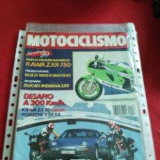 Coches y Motocicletas: REVISTA MOTOCICLISMO N.1078 AÑO 1988. Lote 177794143