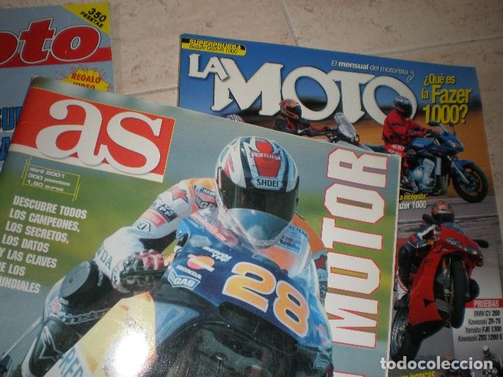 Coches y Motocicletas: LOTE DE 4 REVISTAS,LA MOTO (2),TODOMOTOR Y TOP MOTO. - Foto 3 - 178686817