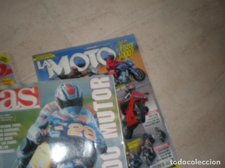 Coches y Motocicletas: LOTE DE 4 REVISTAS,LA MOTO (2),TODOMOTOR Y TOP MOTO. - Foto 4 - 178686817