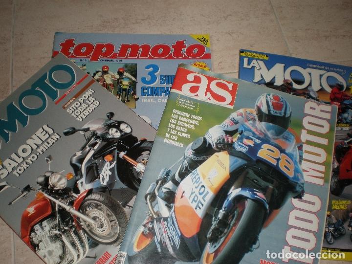 LOTE DE 4 REVISTAS,LA MOTO (2),TODOMOTOR Y TOP MOTO. (Coches y Motocicletas - Revistas de Motos y Motocicletas)