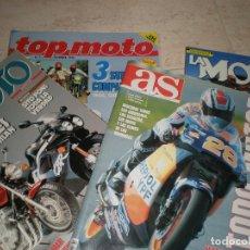 Coches y Motocicletas: LOTE DE 4 REVISTAS,LA MOTO (2),TODOMOTOR Y TOP MOTO.. Lote 178686817