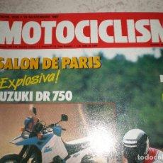 Coches y Motocicletas: MOTOCICLISMO,NUMERO 1030,NOVIEMBRE 1987. Lote 178687576