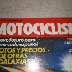 Coches y Motocicletas: MOTOCICLISMO,NUMERO 1079,AÑO 1988. Lote 178687941