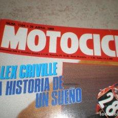 Coches y Motocicletas: MOTOCICLISMO,NUMERO 1104,ABRIL DEL 1989. Lote 178688225