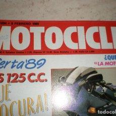 Coches y Motocicletas: MOTOCICLISMO,NUMERO 1094,FEBRERO DEL 1989.. Lote 178688773