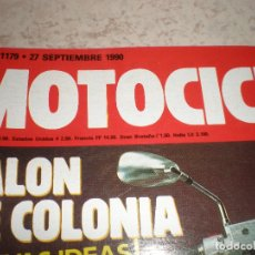 Coches y Motocicletas: MOTOCICLISMO,NUMERO 1179,SEPT. DEL 1990. Lote 178689467