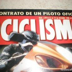 Coches y Motocicletas: MOTOCICLISMO,NUMERO 1599,OCTUBRE DEL 1998. Lote 178689597