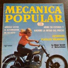 Coches y Motocicletas: REVISTA MECÁNICA POPULAR DE NOVIEMBRE DE 1972. Lote 178938393