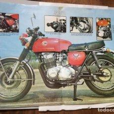 Coches y Motocicletas: POSTER DE LA REVISTA VELOCIDAD. JAPAUTO LA SUPERBIKE FRANCESA. Lote 178978738