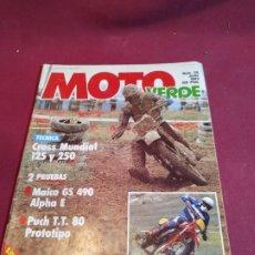 Coches y Motocicletas: REVISTA MOTO VERDE 59 1983. Lote 179241116