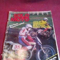 Coches y Motocicletas: REVISTA SOLO MOTO NÚMERO 269 - 1981. Lote 179242268