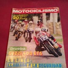 Coches y Motocicletas: REVISTA MOTOCICLISMO NÚMERO 472 - 1976. Lote 179243078