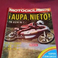 Coches y Motocicletas: REVISTA MOTOCICLISMO NÚMERO 449 - 1976. Lote 179243427