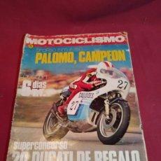 Coches y Motocicletas: REVISTA MOTOCICLISMO NÚMERO 476 - 1976. Lote 179243517