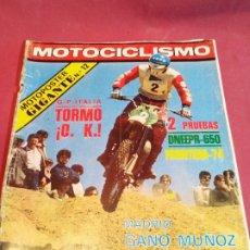 Coches y Motocicletas: REVISTA MOTOCICLISMO NÚMERO 479 - 1976. Lote 179243547