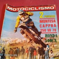 Coches y Motocicletas: REVISTA MOTOCICLISMO NÚMERO 546 - 1978. Lote 179244148