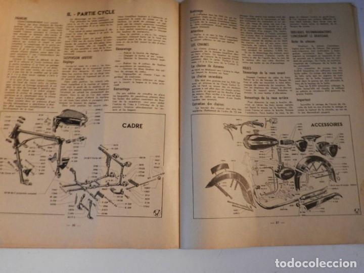 Coches y Motocicletas: REVUE TECHNIQUE MOTOCYCLISTE N° 39 ( TERROT ) DE MAI 1951 - MOTO CUSTOM CLASICA EN FRANCÉS - Foto 3 - 180026143