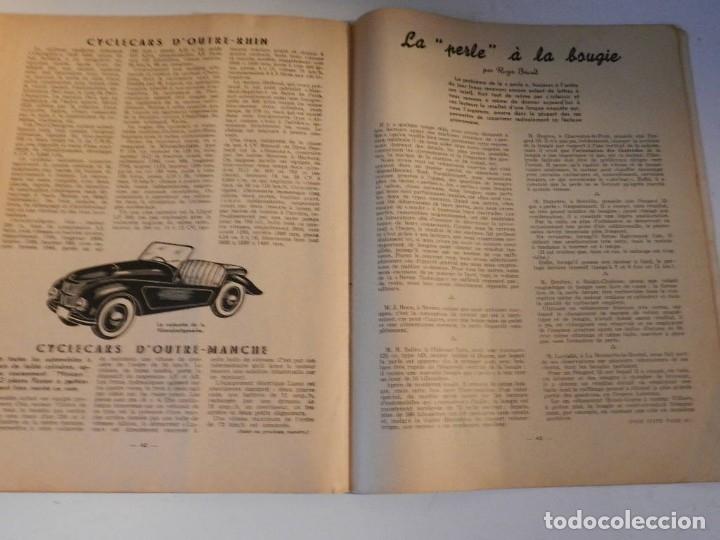 Coches y Motocicletas: REVUE TECHNIQUE MOTOCYCLISTE N° 39 ( TERROT ) DE MAI 1951 - MOTO CUSTOM CLASICA EN FRANCÉS - Foto 4 - 180026143