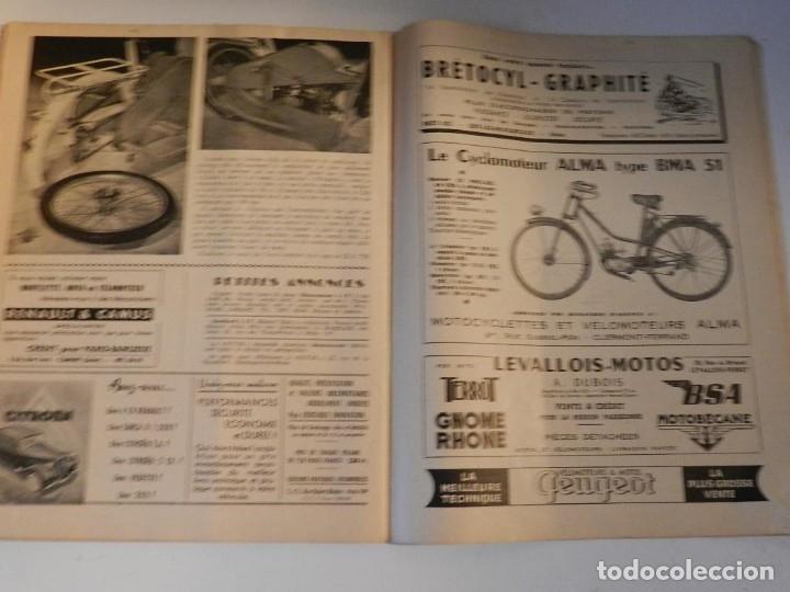 Coches y Motocicletas: REVUE TECHNIQUE MOTOCYCLISTE N° 39 ( TERROT ) DE MAI 1951 - MOTO CUSTOM CLASICA EN FRANCÉS - Foto 6 - 180026143
