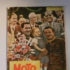 Coches y Motocicletas: MOTO SPORT N 8 1952 - MOTO CUSTOM CLASICA EN ESPAÑOL. Lote 180026327