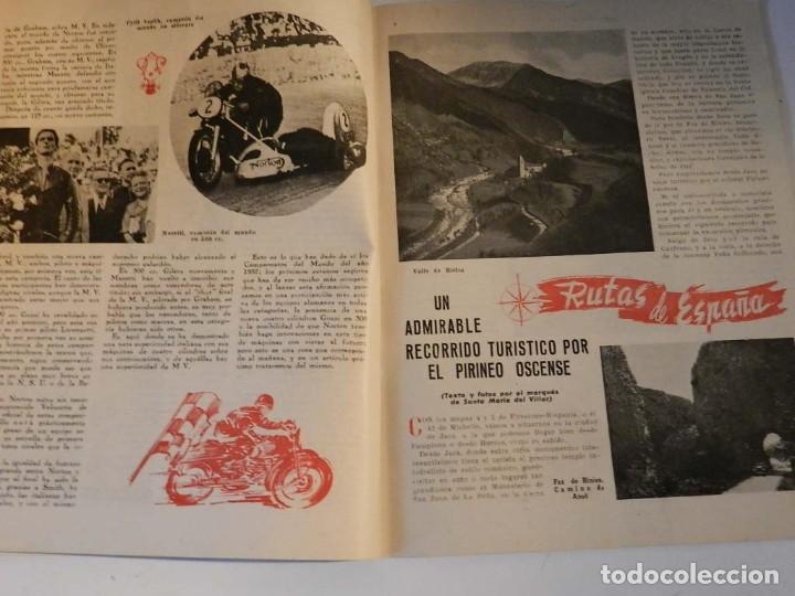 Coches y Motocicletas: MOTO SPORT N 8 1952 - MOTO CUSTOM CLASICA EN ESPAÑOL - Foto 2 - 180026327