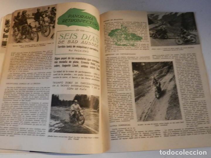 Coches y Motocicletas: MOTO SPORT N 8 1952 - MOTO CUSTOM CLASICA EN ESPAÑOL - Foto 3 - 180026327
