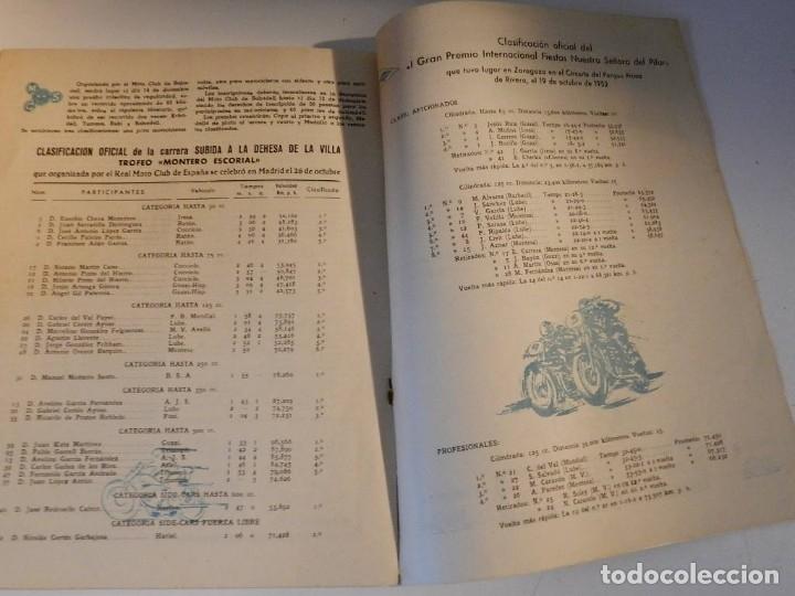Coches y Motocicletas: MOTO SPORT N 8 1952 - MOTO CUSTOM CLASICA EN ESPAÑOL - Foto 5 - 180026327