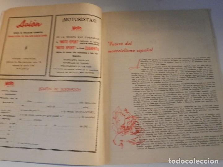 Coches y Motocicletas: MOTO SPORT N 8 1952 - MOTO CUSTOM CLASICA EN ESPAÑOL - Foto 6 - 180026327