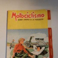 Coches y Motocicletas: MOTOCICLISMO N 79 REVISTA ESPAÑOLA DE LA MOTOCICLETA - MONTESA . Lote 180026630