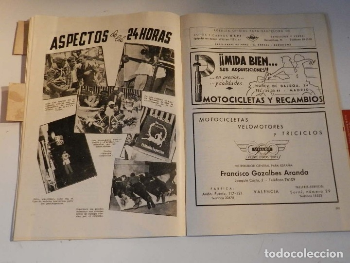 Coches y Motocicletas: MOTOCICLISMO N 79 REVISTA ESPAÑOLA DE LA MOTOCICLETA - MONTESA - Foto 7 - 180026630