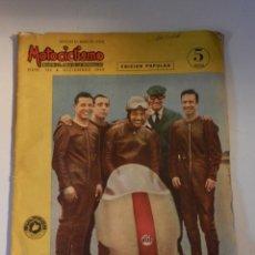 Coches y Motocicletas: MOTOCICLISMO 141 1960 REVISTA ESPAÑOLA DE LA MOTOCICLETA - CAZA RECORDS BULTACO PORTADA PACO BULTÓ. Lote 180026747