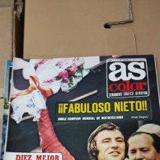 Coches y Motocicletas: 26 DE SEPTIEMBRE 1972 FABULOSO NIETO DOBLE CAMPEÓN DEL MUNDO. Lote 180146553