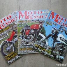 Coches y Motocicletas: LOTE REVISTAS-MOTO CLASICA-(NUMEROS:5-9-10)-MOTOCICLISMO. Lote 180862252