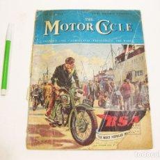 Coches y Motocicletas: THE MOTOR CYCLE. VOL 90. Nº 2620. 2 JUNE 1953. MONTESA BRIO. 125.. Lote 180959660