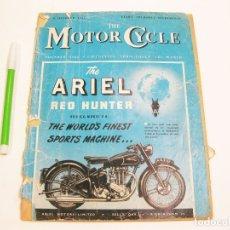 Coches y Motocicletas: THE MOTOR CYCLE. VOL 87. Nº 2530. 4 OCTOBER 1951. Lote 180959811