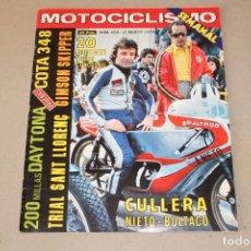 Coches y Motocicletas: REVISTA - MOTOCICLISMO. Nº 450 MARZO 1976 - PORTADA: ANGEL NIETO - POSTER: TRIAL. Lote 181507792