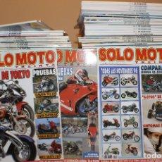 Coches y Motocicletas: LOTE DE 200 REVISTAS APROX. SOLO MOTO 30. Lote 182042308