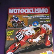 Coches y Motocicletas: MOTOCICLISMO Nº 1126 - BMW R 100 - DUCATI 900 - ALEX CRIVILLE - . Lote 182365163