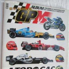Coches y Motocicletas: ALBÚM GP MARCA - A TODO GAS 2005 - LE FALTAN 9 CROMOS. . Lote 183337425