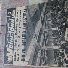 Coches y Motocicletas: REVISTA VELOCIDAD N 197 DE 19 JUNIO DE 1965. Lote 183561507