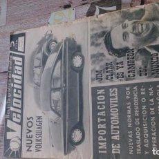 Coches y Motocicletas: REVISTA VELOCIDAD N 204 DE 7 AGOSTO DE 1965. Lote 183561677