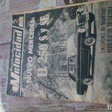 Coches y Motocicletas: REVISTA VELOCIDAD N 205 DE 14 AGOSTO DE 1965. Lote 183561817