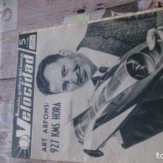 Coches y Motocicletas: REVISTA VELOCIDAD N 218 DE 13 NOVIEMBRE DE 1965. Lote 183562088