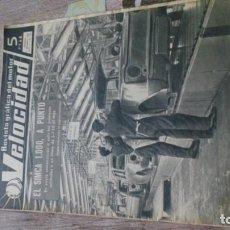 Coches y Motocicletas: REVISTA VELOCIDAD N 221 DE 4 DICIEMBRE DE 1965. Lote 183562196