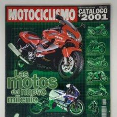 Coches y Motocicletas: MOTOCICLISMO CATÁLOGO 2001. Lote 183816211