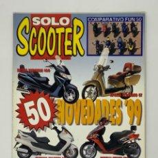 Coches y Motocicletas: SOLO SCOOTER Nº1 OCTUBRE-DICIEMBRE 1998. Lote 183823932