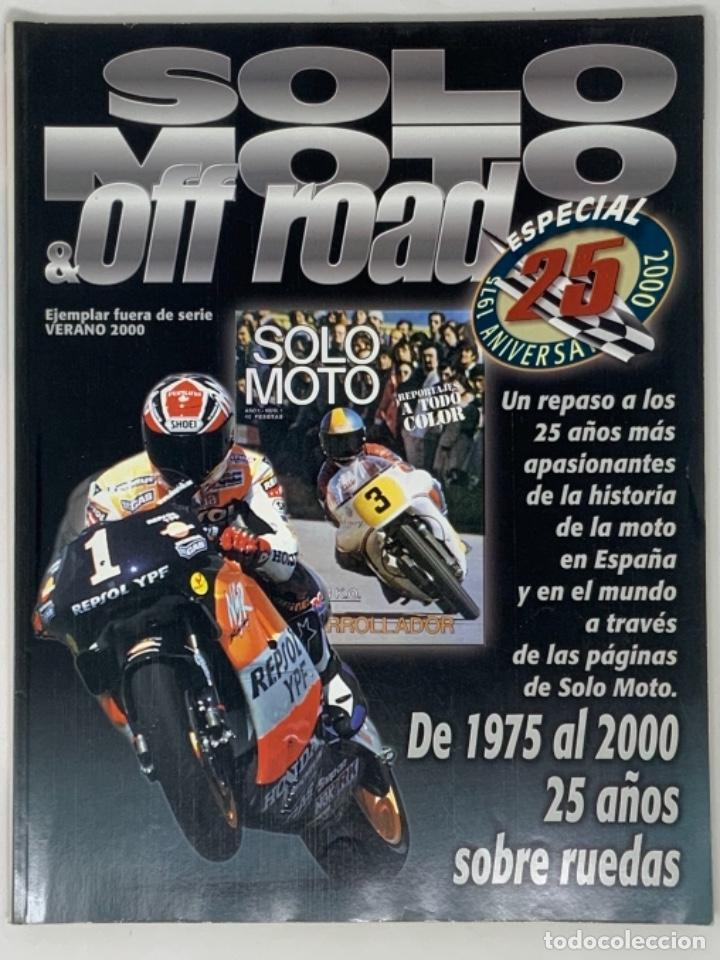 SOLO MOTO & OFF ROAD VERANO 2000 (Coches y Motocicletas - Revistas de Motos y Motocicletas)